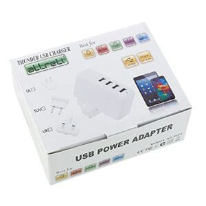 Smart IC 4-Port Wall Charger