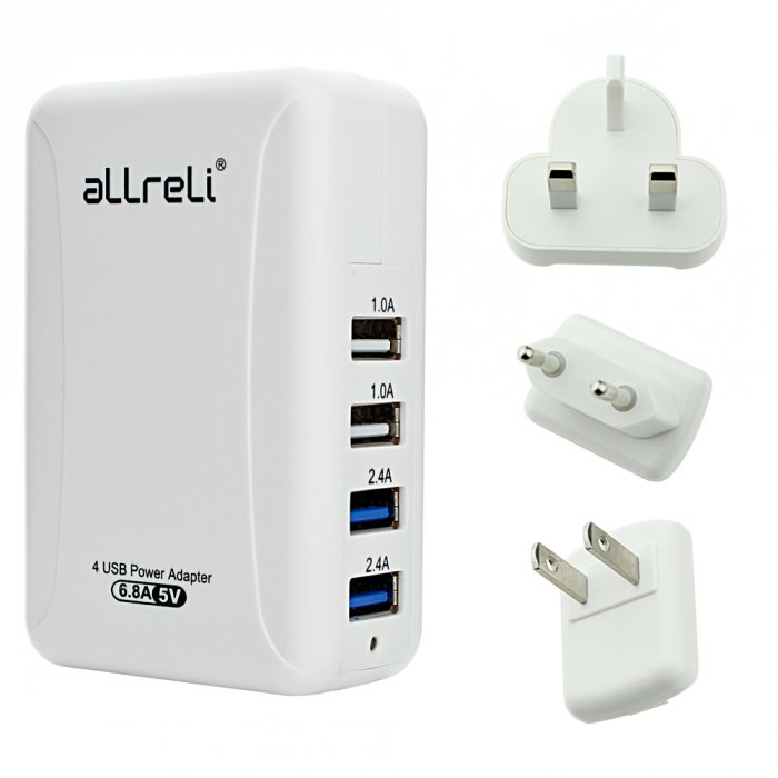 aLLreli 4 Port USB Wall-Charger 1 (6)