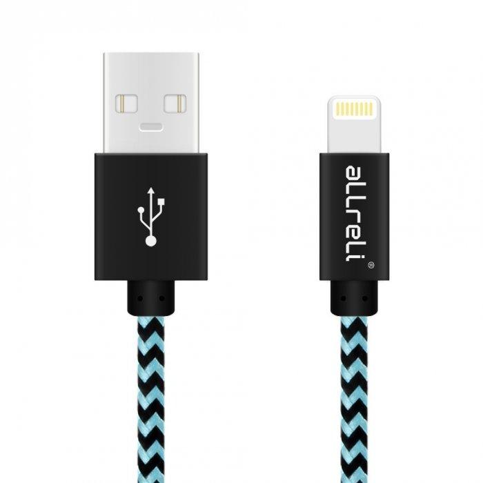 aLLreLi 3.3ft Apple Lightning to USB Cable