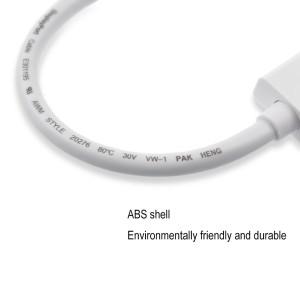 aLLreLi 6 Feet HD 4Kx2K Mini DisplayPort to HDMI Cable5