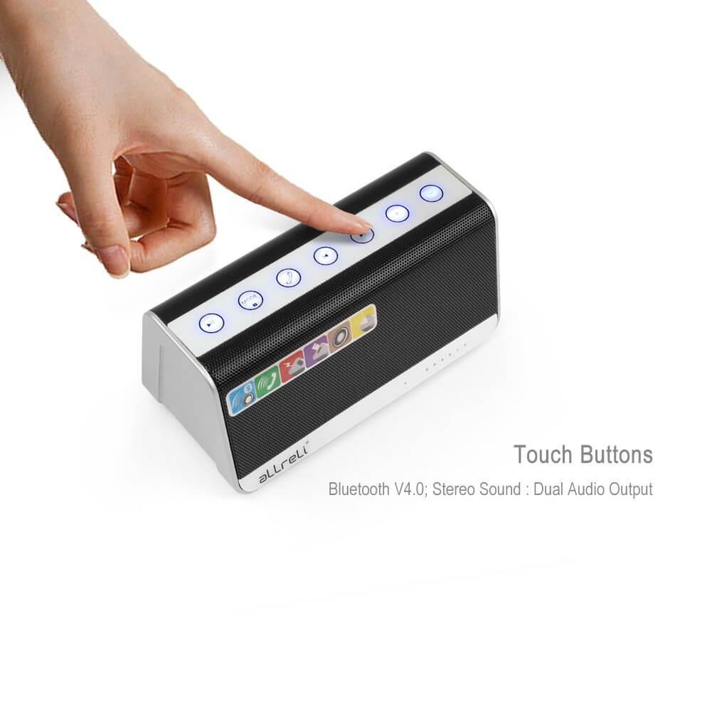 aLLreLi Ultra-Portable Bluetooth 4.0 Speaker 4