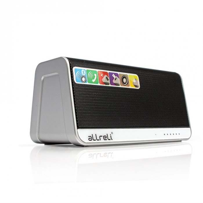 aLLreLi Ultra-Portable Bluetooth 4.0 Speaker 1