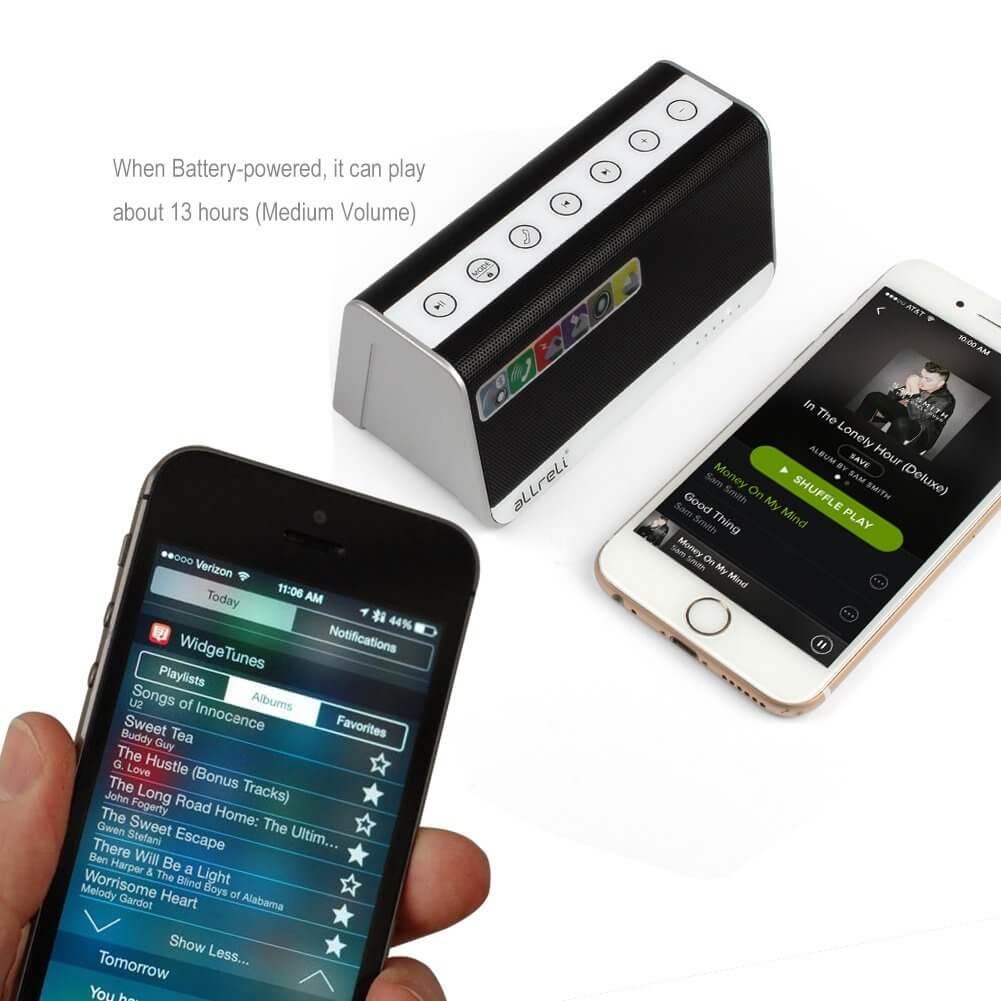 aLLreLi Ultra-Portable Bluetooth 4.0 Speaker 2
