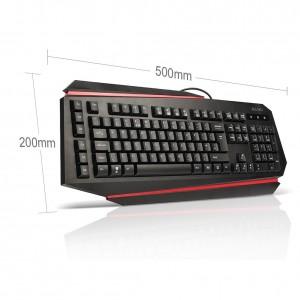 aLLreLi K9500U LED Backlit Gaming Keyboard1