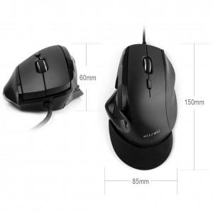 aLLreLi Wired Vertical Mouse2