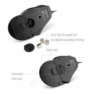 aLLreLi Wired Vertical Mouse