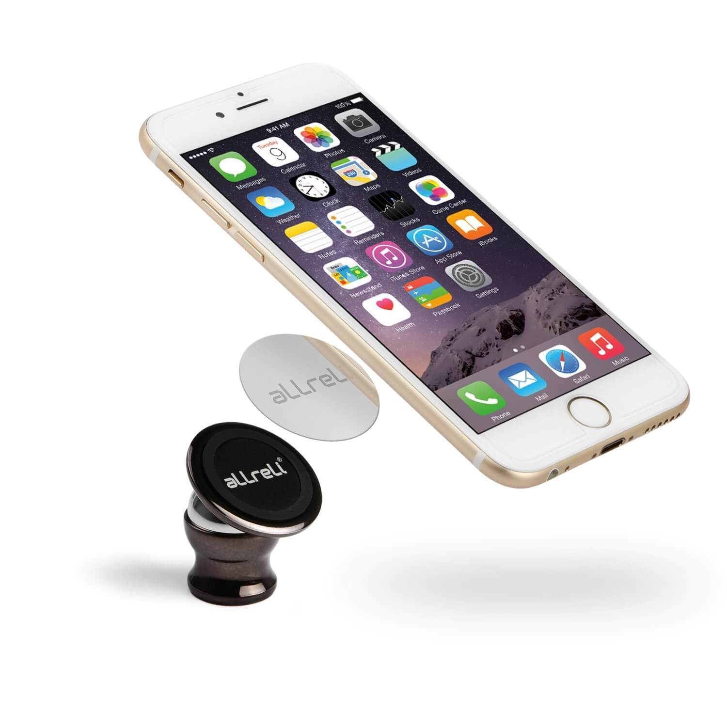 Allreli Universal Magnetic Car Cell Phone Mounts Holder