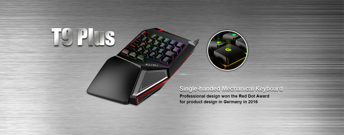 Single-handed Mechanical Keyboard