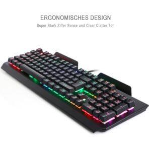 CP0304 K643 Mechanische Gaming Tastatur